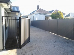 colour steel with dura panel gate
