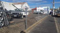 Chainlink security fence